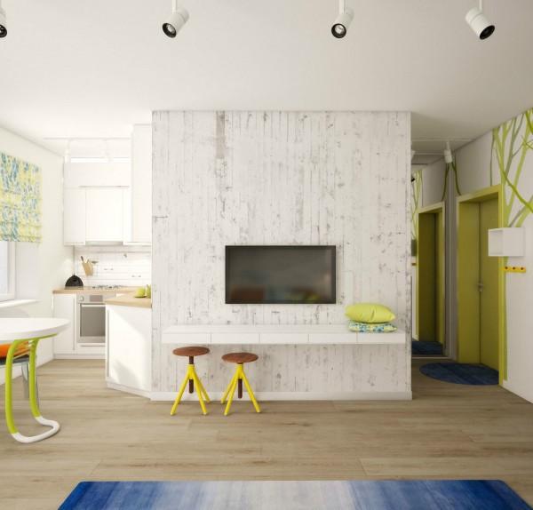 Căn hộ nhỏ đầy cảm hứng với tông màu vàng chanh 7