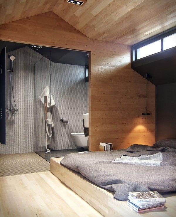 Ngôi nhà 18m² đậm cá tính nhờ nội thất gỗ độc đáo 6