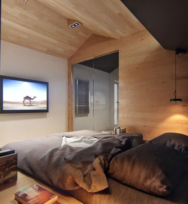 Ngôi nhà 18m² đậm cá tính nhờ nội thất gỗ độc đáo 9