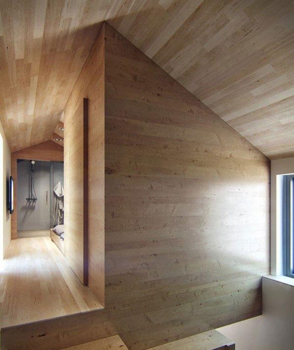 Ngôi nhà 18m² đậm cá tính nhờ nội thất gỗ độc đáo 10