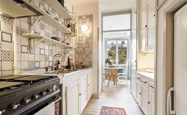 Mẹo đơn giản giúp căn bếp nhỏ trở nên rộng rãi hơn 5