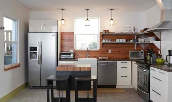 Mẹo đơn giản giúp căn bếp nhỏ trở nên rộng rãi hơn 6
