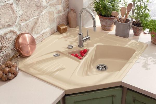 5 mẫu bồn rửa bát đẹp và tiện cho bếp chật 1