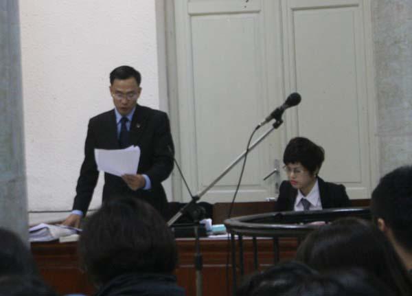 Bị cáo Tường bị tuyên án 19 năm tù, cấm hành nghề 5 năm sau khi mãn hạn tù 1