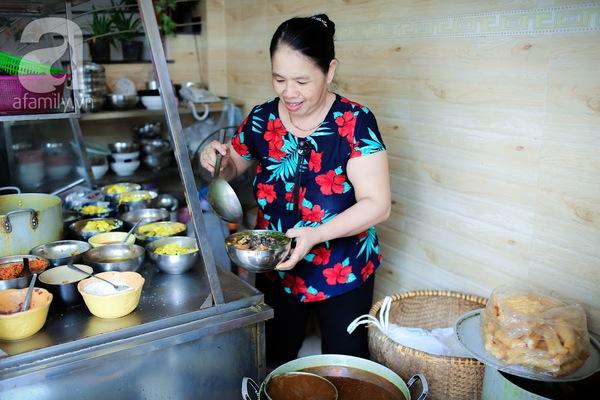 bún ốc 37 năm ở Hà Nội
