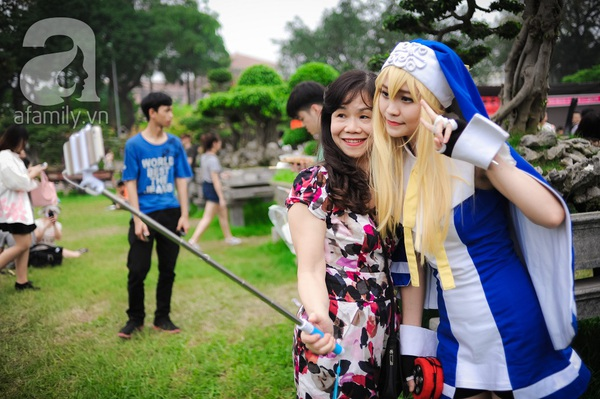 Những hình ảnh ấn tượng khó quên tại lễ hội hoa anh đào Nhật Bản