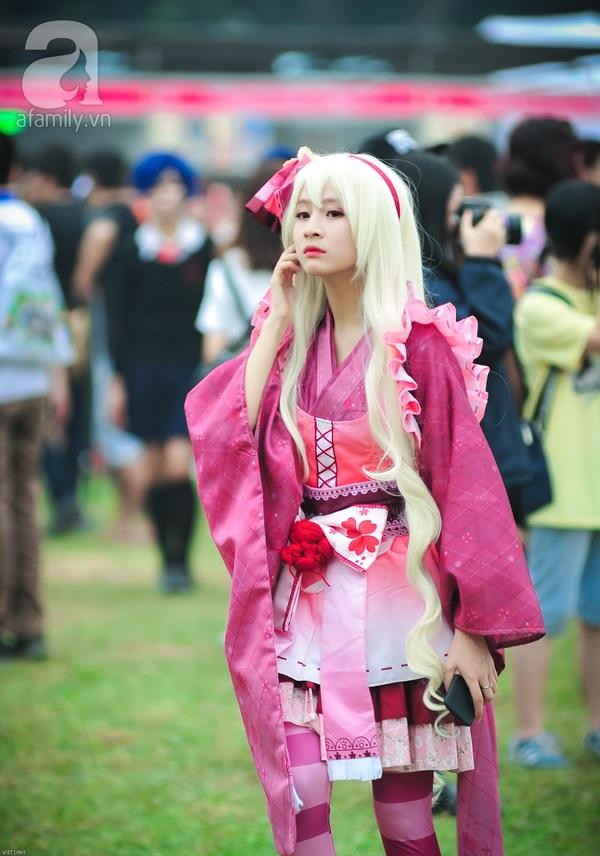 Lễ hội hoa anh đào Nhật Bản 2016