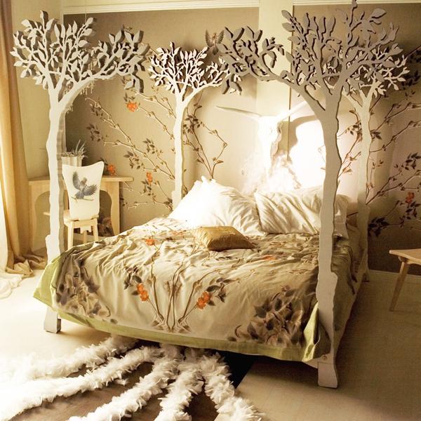 """Mẫu giường ngủ độc đáo khiến bạn """"ngắm không chớp mắt""""  1"""