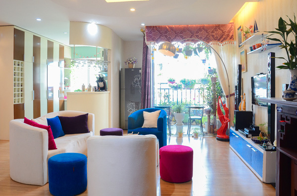 Ngắm căn hộ có góc vườn truyền cảm hứng cho cả khu chung cư ở Hà Nội 1