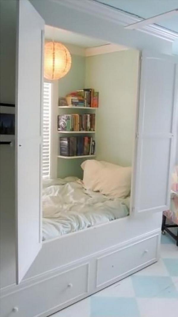 """Mẫu giường ngủ độc đáo khiến bạn """"ngắm không chớp mắt""""  5"""