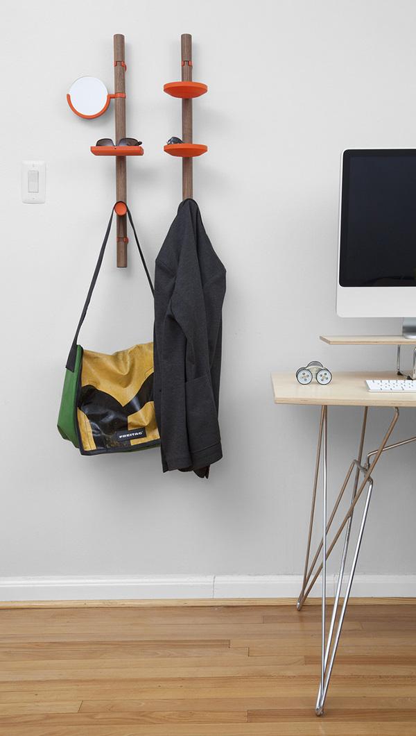 Lưu trữ thoải mái không lo tốn diện tích với cây treo đồ thông minh 5