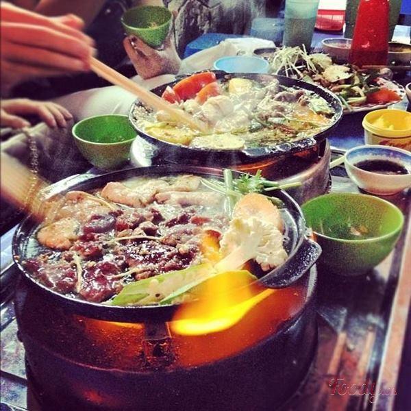 Dạo Hà Nội khám phá thiên đường đồ nướng đa dạng vào mùa đông 12