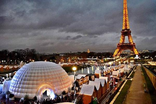 7 trải nghiệm tuyệt vời trong mùa Giáng sinh tại Paris 2