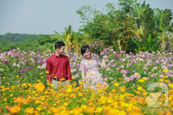 4 địa điểm chụp ảnh với hoa đẹp hút hồn ở Hà Nội 6