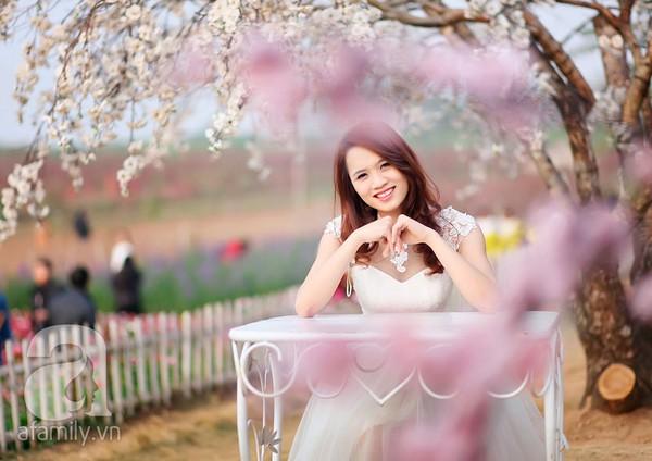 4 địa điểm chụp ảnh với hoa đẹp hút hồn ở Hà Nội 3