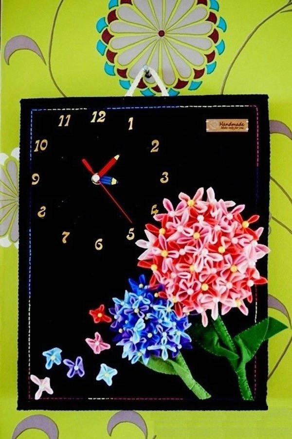 Tranh đồng hồ hoa cẩm chướng trang trí nhà ấn tượng 16