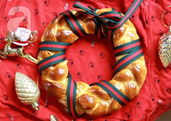 Bánh mỳ vòng nguyệt quế mềm thơm cho Noel thêm vui 1