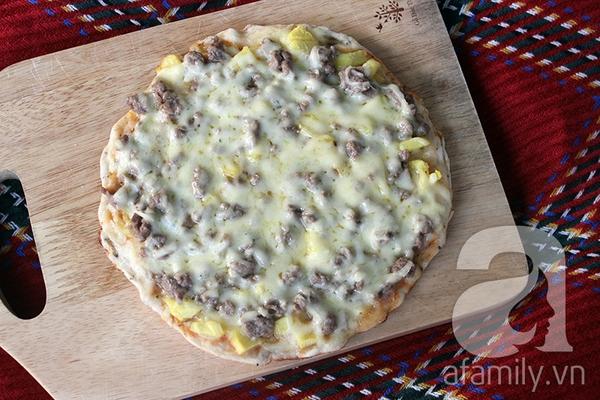 Dùng chảo làm bánh Pizza ngon như nhà hàng thật dễ! 23