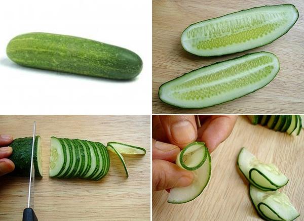 4 cách cắt rau củ cơ bản trang trí đĩa ăn đẹp mắt 3