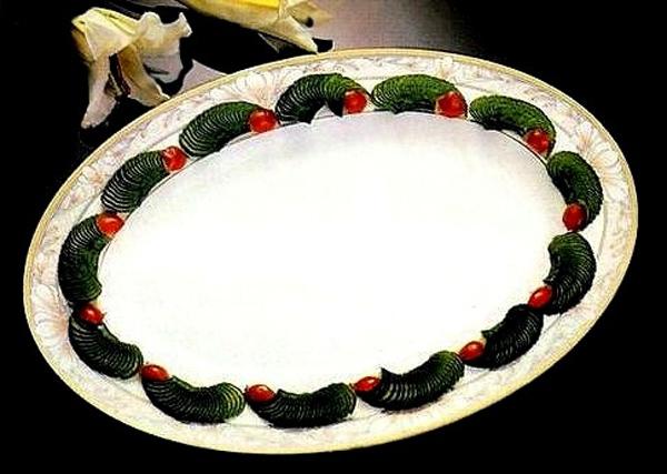 4 cách cắt rau củ cơ bản trang trí đĩa ăn đẹp mắt 10