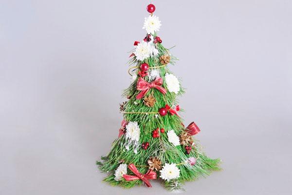 3 cách làm cây thông mini đáng yêu cho mùa Noel 27