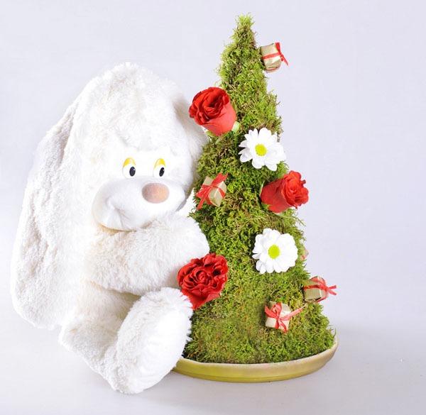 3 cách làm cây thông mini đáng yêu cho mùa Noel 9