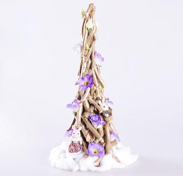 3 cách làm cây thông mini đáng yêu cho mùa Noel 18