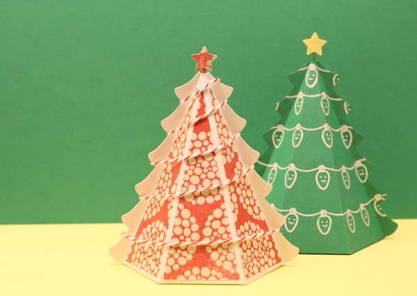 Tự chế hộp quà hình cây thông Noel siêu xinh 17