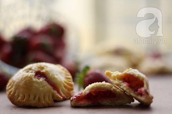 Bánh Pie dâu tây chua ngọt thử là yêu 22