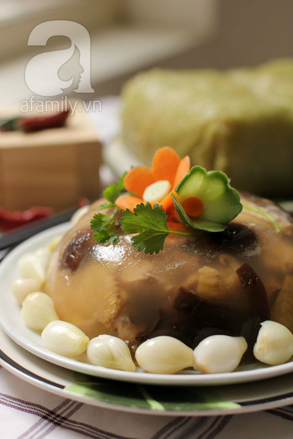 Blogger Phương Vũ chia sẻ cách làm gà nấu đông cực ngon 22