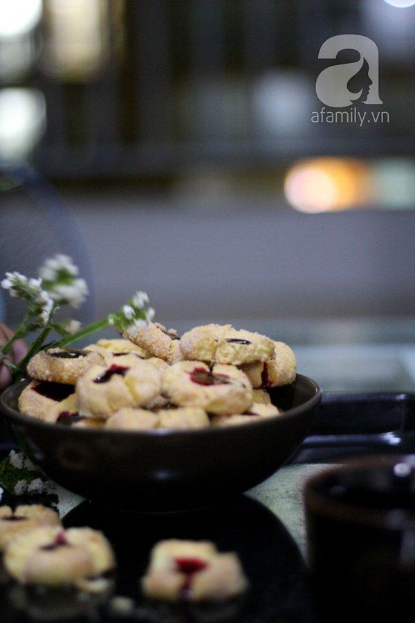 Bánh quy nhân mứt chua thơm lạ miệng 15