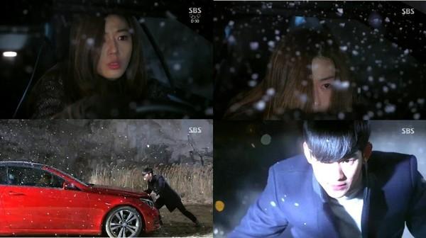 Kim Soo Hyun liên tục cứu Jun Ji Hyun thoát chết 2
