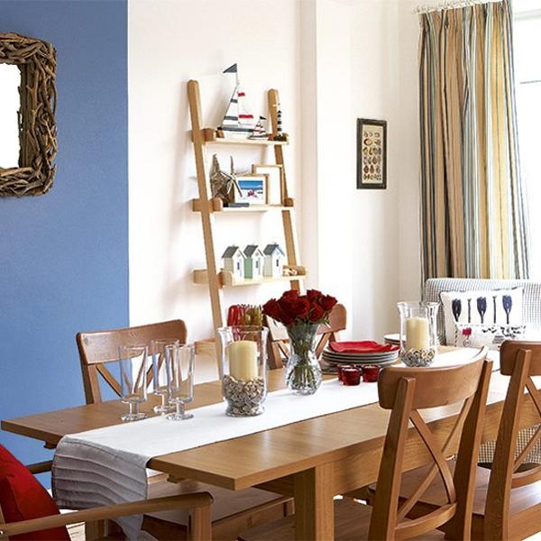 5 gợi ý tạo điểm nhấn cho phòng ăn mang phong cách biển xanh 1
