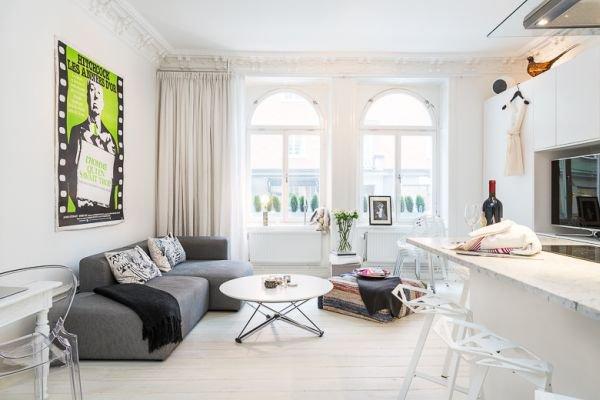 Bài trí nội thất thông minh và tiện nghi cho căn hộ 40 mét vuông 1