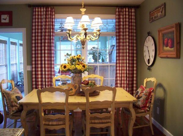 Ngắm những mẫu phòng ăn thanh lịch mang phong cách đồng quê 1
