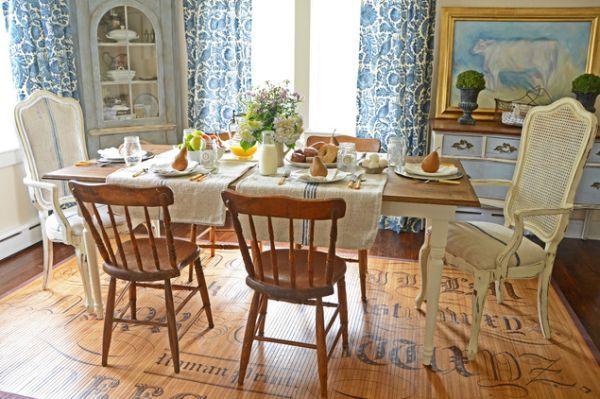 Ngắm những mẫu phòng ăn thanh lịch mang phong cách đồng quê 4