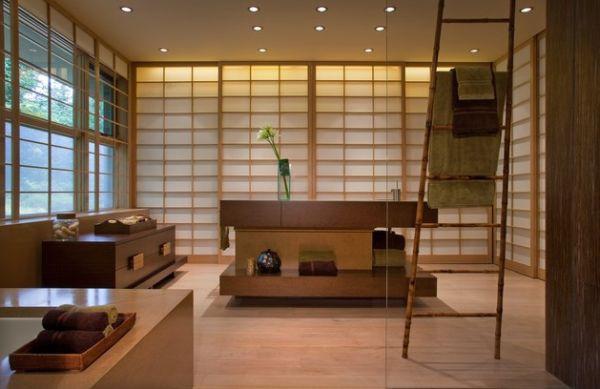 Học cách trang trí phòng tắm đẹp mê theo phong cách Nhật Bản 3