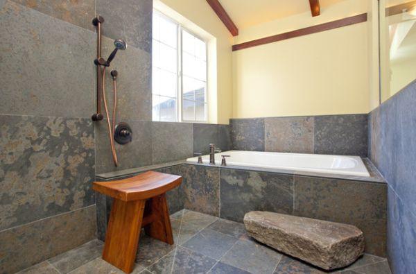 Học cách trang trí phòng tắm đẹp mê theo phong cách Nhật Bản 5