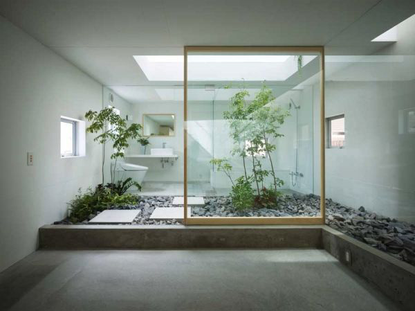 Học cách trang trí phòng tắm đẹp mê theo phong cách Nhật Bản 2