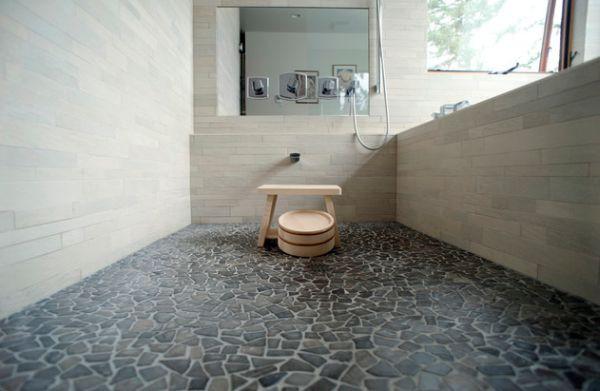 Học cách trang trí phòng tắm đẹp mê theo phong cách Nhật Bản 6