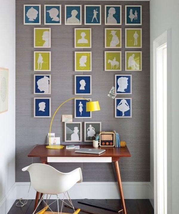 Những ý tưởng trang trí tường nhà đơn điệu trở nên cuốn hút 6