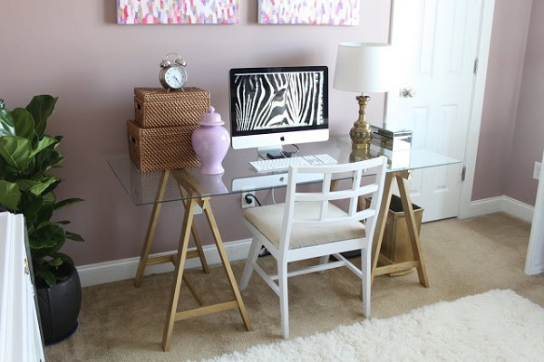 Thêm cảm hứng sáng tạo với bàn làm việc duyên dáng từ gỗ cũ 2