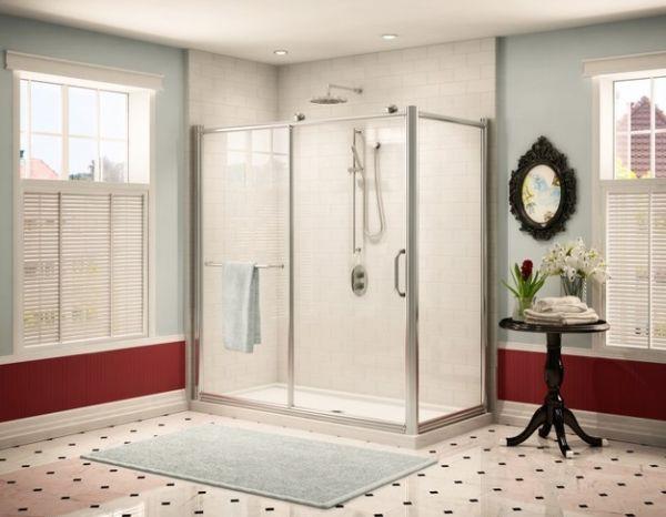 Bồn tắm đứng - giải pháp nới rộng không gian cho phòng tắm 7