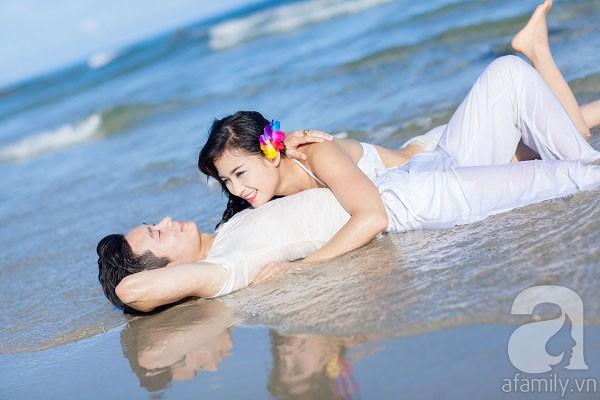 Chuyện tình ngọt ngào của cặp đôi chung lớp và bộ ảnh cưới biển đẹp như mơ 10