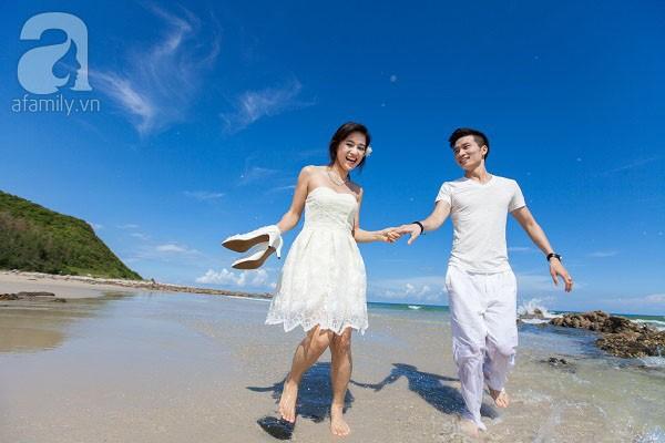 Chuyện tình ngọt ngào của cặp đôi chung lớp và bộ ảnh cưới biển đẹp như mơ 11