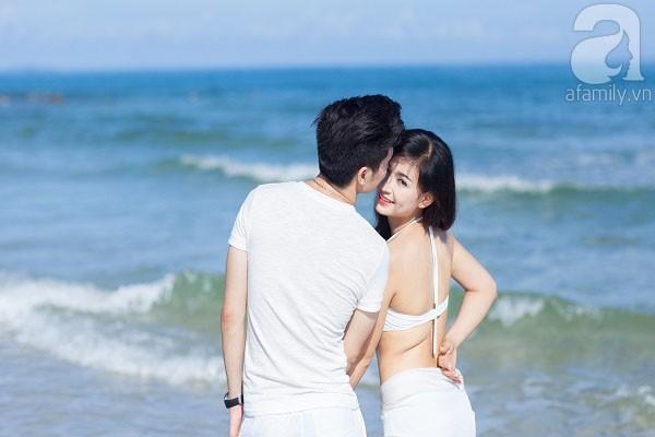 Chuyện tình ngọt ngào của cặp đôi chung lớp và bộ ảnh cưới biển đẹp như mơ 2