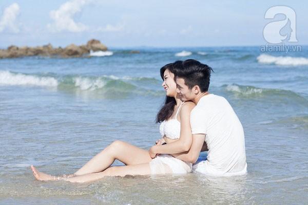 Chuyện tình ngọt ngào của cặp đôi chung lớp và bộ ảnh cưới biển đẹp như mơ 3