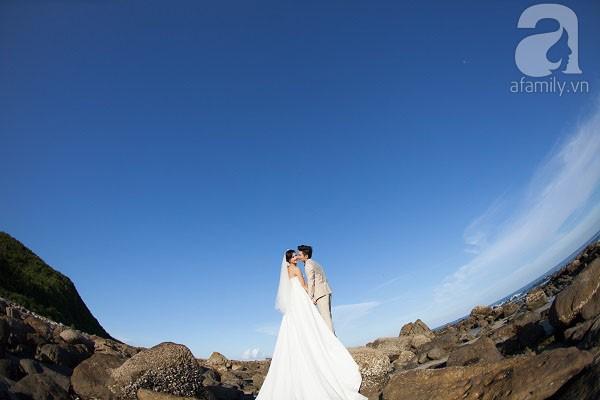 Chuyện tình ngọt ngào của cặp đôi chung lớp và bộ ảnh cưới biển đẹp như mơ 4