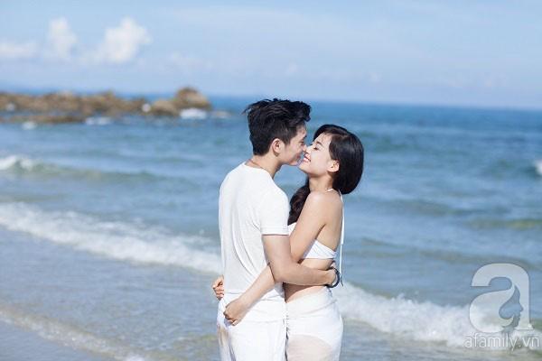 Chuyện tình ngọt ngào của cặp đôi chung lớp và bộ ảnh cưới biển đẹp như mơ 7