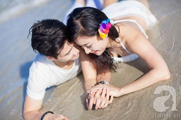 Chuyện tình ngọt ngào của cặp đôi chung lớp và bộ ảnh cưới biển đẹp như mơ 8